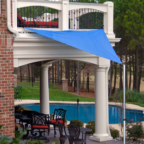 King Canopy Shade Sail Pole Kit - 9 Foot Extension