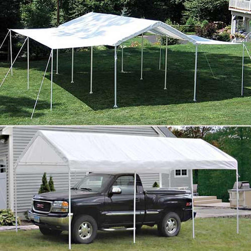 ShelterLogic 10' x 20' Max AP 8-Leg 2-in-1 Deluxe Canopy