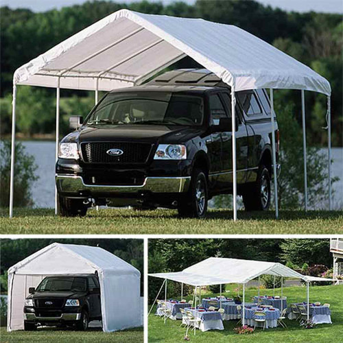 ShelterLogic 10' x 20' Max AP 8-Leg 3-in-1 Deluxe Canopy