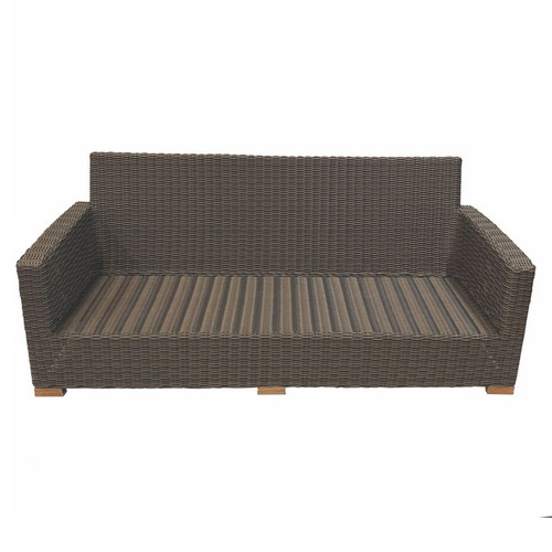 Sanibel Wicker Deep Seating Sofa Frame