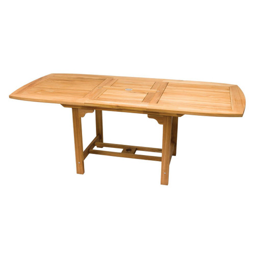 Medium Teak Rectangular Expansion Table