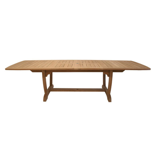 Large Teak Gala Expansion Table