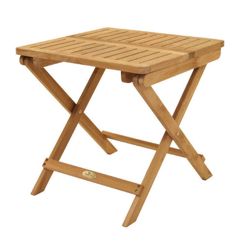 Teak Side Picnic Table