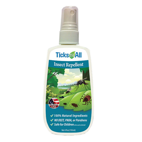 All Purpose Mosquito & Tick Repellent - 4 oz