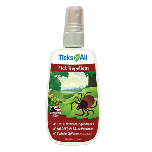 Tick Repellent - 4 oz