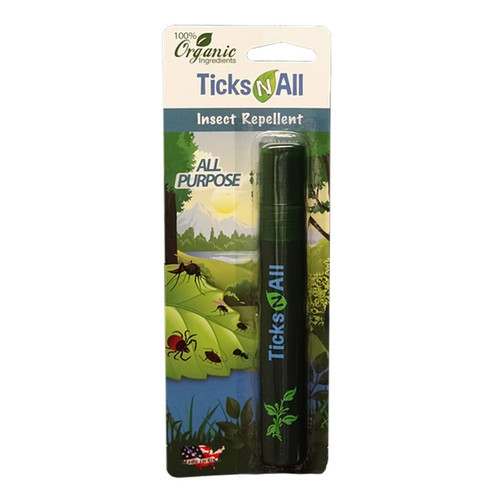 All Purpose Mosquito & Tick Repellent Pocket Spray