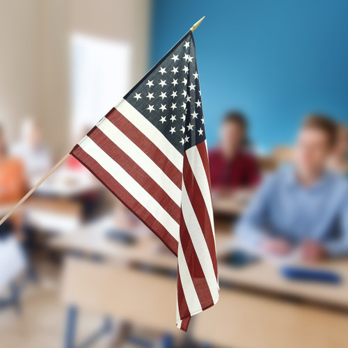 Classroom US Flag 2ft x 3ft - Polyester