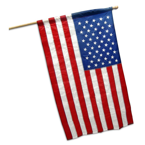 US Flag banner type 3ft x 5ft Nylon - (Online Stores Brand)