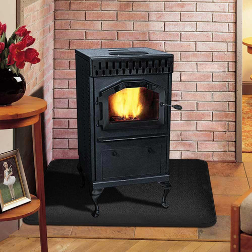 Magnum Baby Countryside Flex-Fuel Pellet Stove with Black Door and Legs