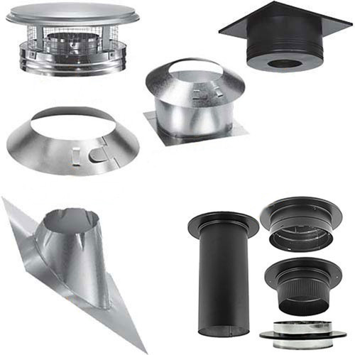 8'' DuraPlus Round Ceiling Support Kit - DP810-KIT