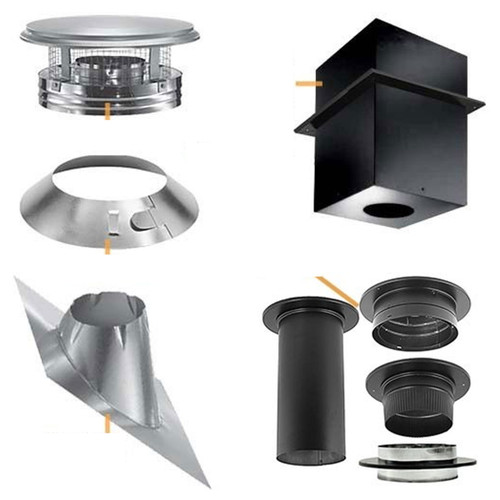 8'' DuraPlus Cathedral Ceiling Support Kit - DP820-KIT