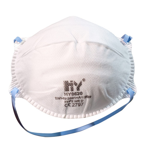 Safety FFP2 Particulate Protective Face Mask With Elastic Headband: HY8620