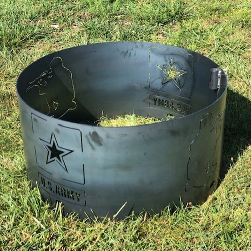 """U.S Army Fire Pit Ring- 30 """""""