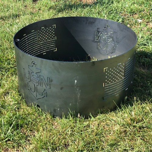 U.S Navy  Fire Pit Ring- 30 ""