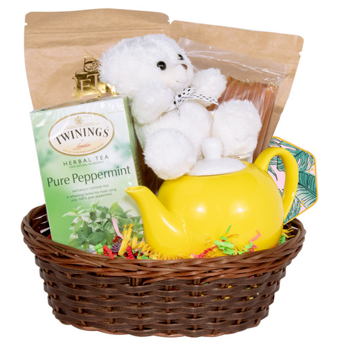 Just What The Doctor Ordered -  Get Well Tea Gift Basket