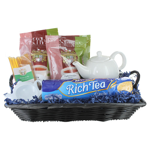 English Tea For One Gift Basket