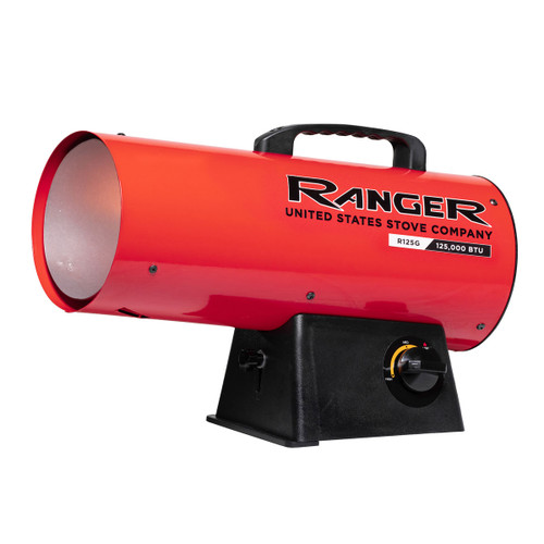 Ranger R125LP 125,000 BTU Propane Forced Air Heater