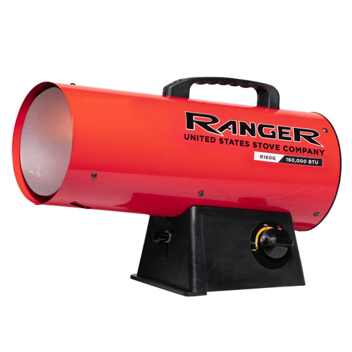 Ranger R160LP 155,000 BTU Propane Forced Air Heater