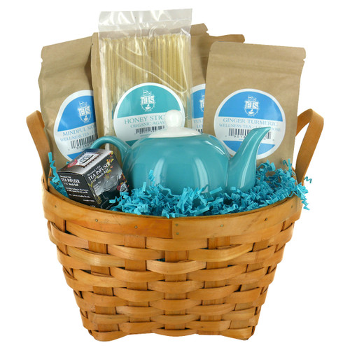 Wellness Teas Gift Basket