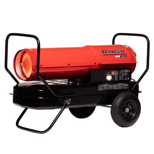 Ranger R215K 215,000 BTU Kerosene / Diesel Forced Air Heater