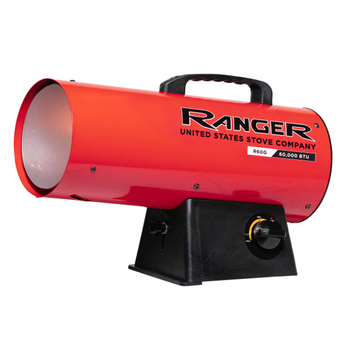 Ranger R60LP 60,000 BTU LP Forced Air Heater