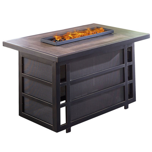 Chateau 30,000 BTU Gas Fire Pit Coffee Table