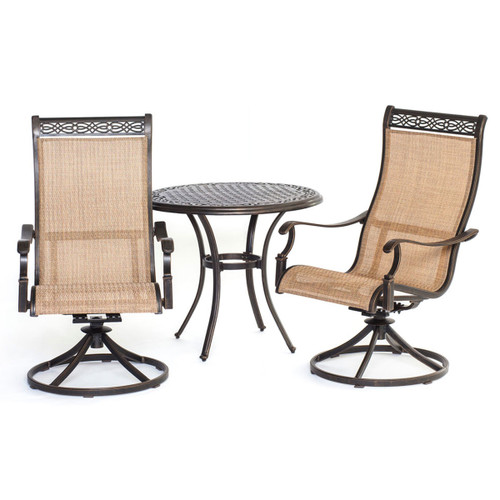 Manor 3-Piece Bistro Dining Set