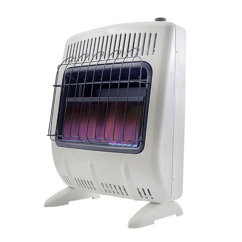 Vent Free 20,000 BTU Blue Flame Natural Gas Heater- F299721