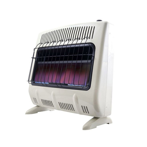 Vent Free 30,000 BTU Blue Flame Natural Gas Heater- F299731