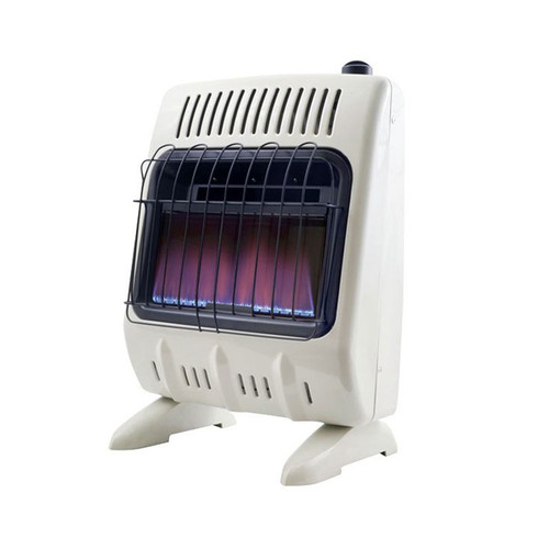 Vent Free 10,000 BTU Blue Flame Natural Gas Heater