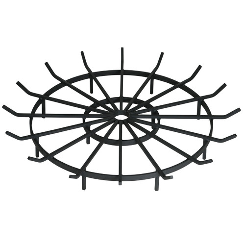 Wagon Wheel Outdoor Fire Pit Grate- 36 inch Diameter