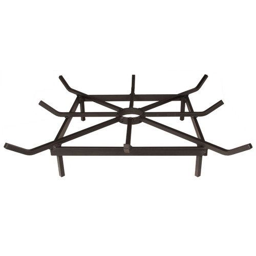 """20"""" Heavy Duty Steel Square Outdoor Fire Pit Grate"""