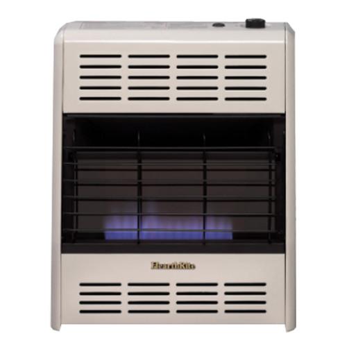 Empire 20,000 BTU Blue Flame Natural Gas Heater Manual Temperature Control