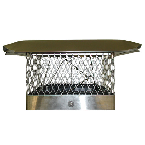 8'' x 17'' Energy Saving Top Damper Plus