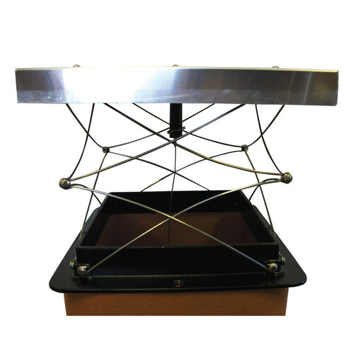 "The Top Damper  Chimney/Cap Damper- 8"" x 17"""
