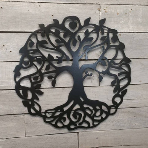 "24"" Decorative Metal Art - Tree of Life"
