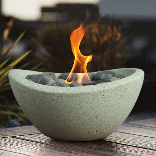 Wave Fire Bowl - Seafoam
