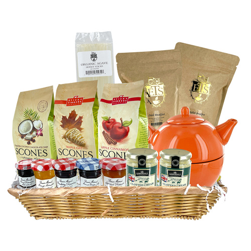 Scones and Teas Gift Basket