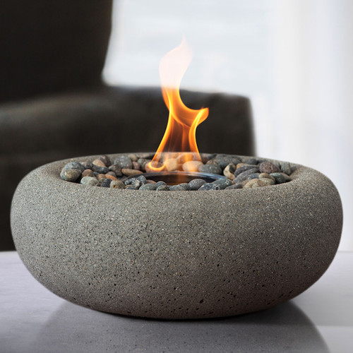 Zen Fire Bowl - Pewter