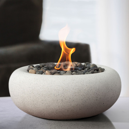 Zen Fire Bowl - White