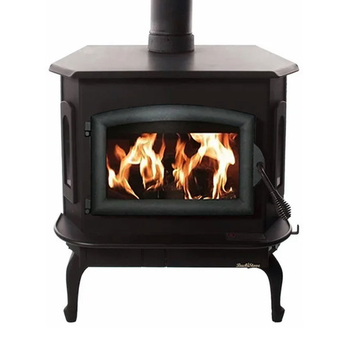 Wood Stove with Black Door - Model 81