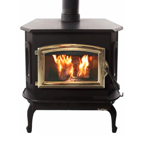Wood Stove with Gold Door - Model 81