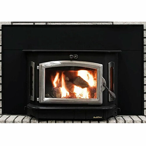 Wood Stove with Pewter Door - Model 91