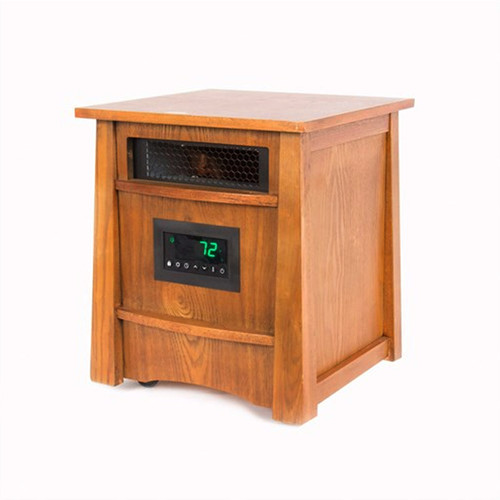 Wood Cabinet 8 Element IR Heater