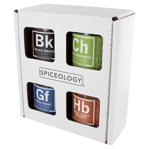 Spiceology Rub Variety Pack - Top 4 Seasoning Blends