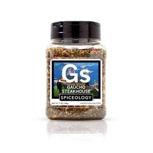 Spiceology Derek Wolf - Gaucho Steakhouse Rub - 7 oz.