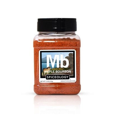Spiceology Derek Wolf - Maple Bourbon Rub - 11 oz.