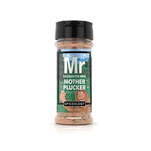 Spiceology Sasquatch BBQ - Mother Plucker Poultry Rub - 3.8 oz.