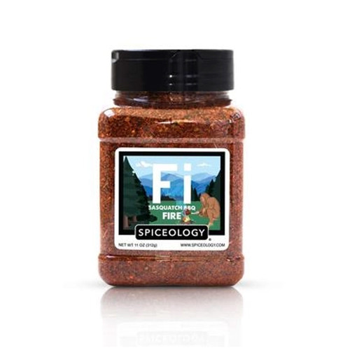 Spiceology Sasquatch BBQ - Fire - Citrus Chile Rub - 11 oz.
