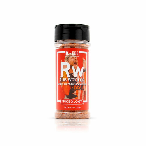 Spiceology DJ BBQ - Rub Woofer - Smoky Chipotle Seasoning - 4.2 oz.